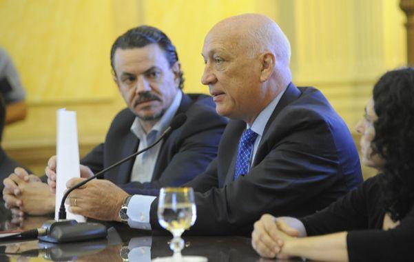 Bonfatti y Galassi reivindicaron el desdoblamiento electoral en la provincia de Santa Fe. (S.Salinas)