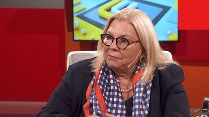 Elisa Carrió, líder de la Coalición Cívica, disparó contra el flamante ministro de Seguridad Aníbal Fernández.