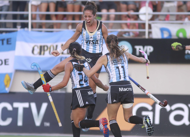Dos goles marcó D'Elía en el último Champions Trophy de Mendoza
