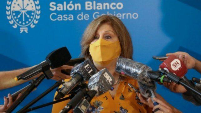Adriana Cantero insistió con que la oferta hecha a los docentes es una de las mejores del país.