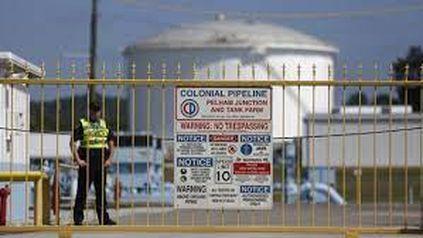 Una estación del poliducto Colonial Pipeline, que abastece a todo el Este de Estados Unidos y fue víctima de una banda de ramsomware rusa.