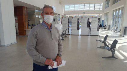 Francisco Villano. director del Hospital Iturraspe.