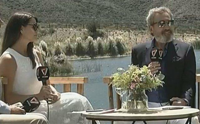 vendimia solidaria. Pamela David y Daniel Vila participaron en la edición de la tradicional fiesta mendocina.