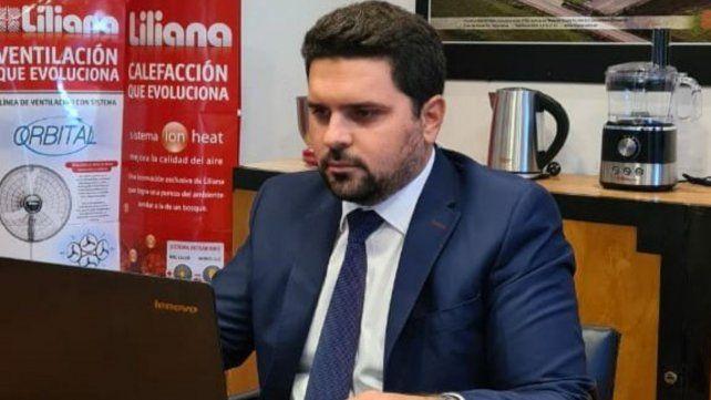 Jacobson es el nuevo presidente de Aderr en representación de la Asociación Empresaria de Rosario.