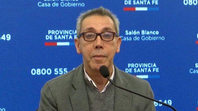 El secretario de Salud provincial, Jorge Prieto.