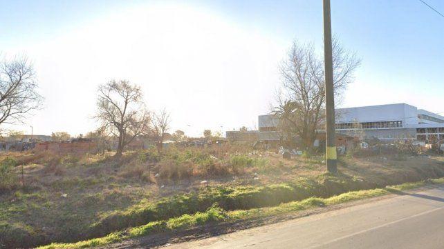 La zona donde fue atacado el joven de 18 años. (Foto: Google maps)