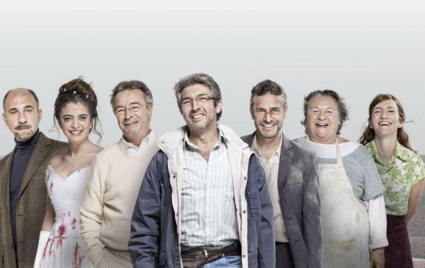 Victoriosos. El elenco de Relatos salvajes encabezado por Ricardo Darín va por la estatuilla mayor que se entregará el 22 de febrero.