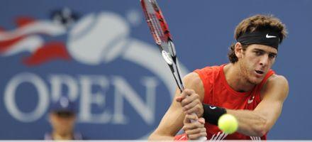 Del Potro, satisfecho por poner todo ante uno de los mejores tenistas del mundo