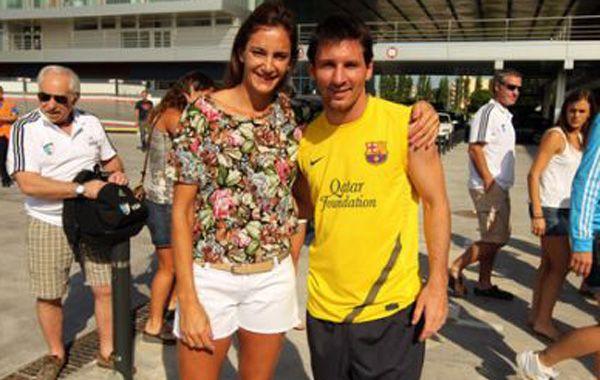 Los rosarinos Leo Messi y Luciana Aymar