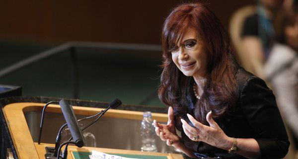 Cristina dijo en la ONU que el Reino Unido se niega a negociar por Malvinas