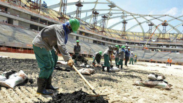 Amnistía Internacional pidió a Fifa que luche por derechos humanos de obreros migrantes en Qatar