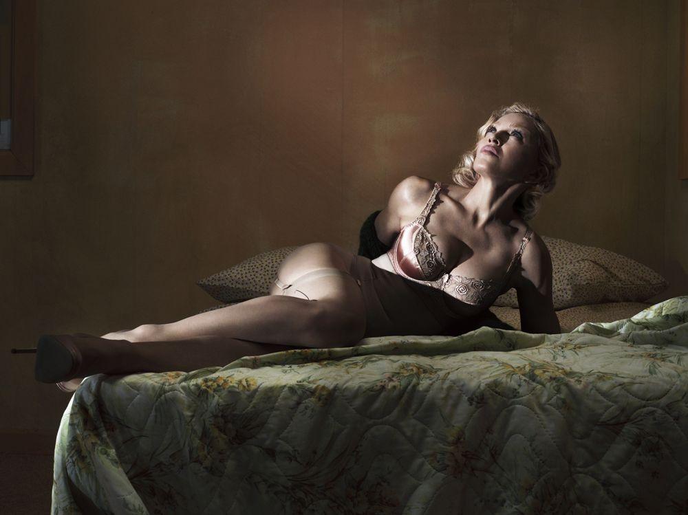 Clásica y moderna. Madonna posó para una entrevista de Interview que le dedicó la tapa de diciembre.