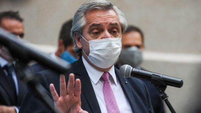 """Alberto dijo que en el gobierno están """"custodiando"""" la evolución del dólar."""