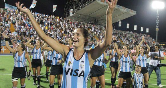 Las Leonas se coronaron otra vez en Rosario, como en el Mundial