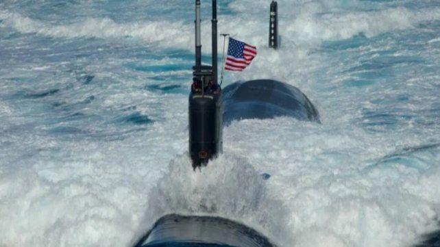 Grave preocupación por la operación de un submarino de EEUU en el Atlántico Sur
