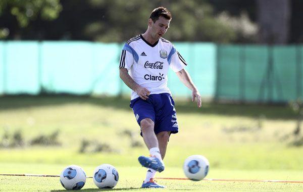 El capitán de la selección habló de la chance de hacer historia en Brasil.