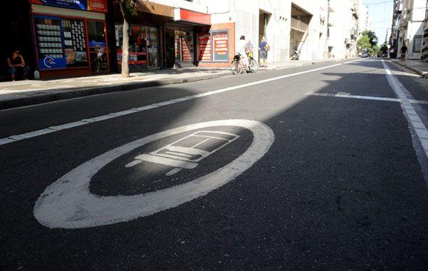 Debate. La extensión de los carriles a Alberdi será tratada hoy en el Concejo.