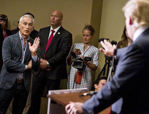 Donald Trump expulsó a un renombrado periodista latino de una rueda de prensa
