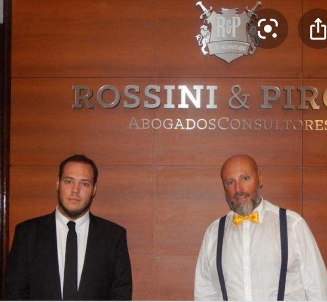 Los abogados Ángelo y Luis Rossini llevan adelante la defensa de Leonardo Peiti.