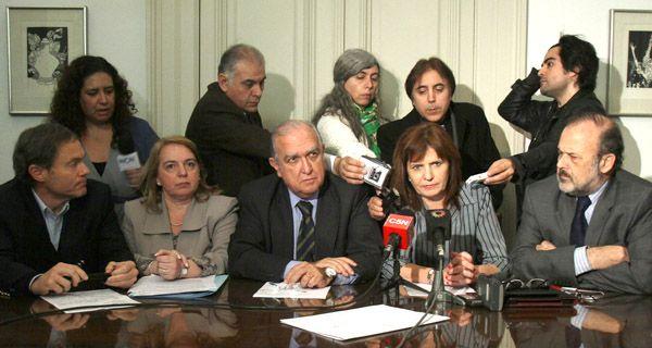 Bullrich culpó a Moreno por la persecución a periodistas y le pidió al juez que retire el exhorto