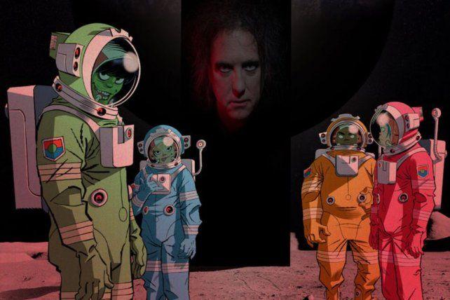 Robert Smith le pone voz a Strange Timez
