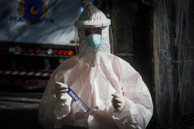 Rosario acumula 80 muertes por coronavirus en los primeros cuatro días de la semana