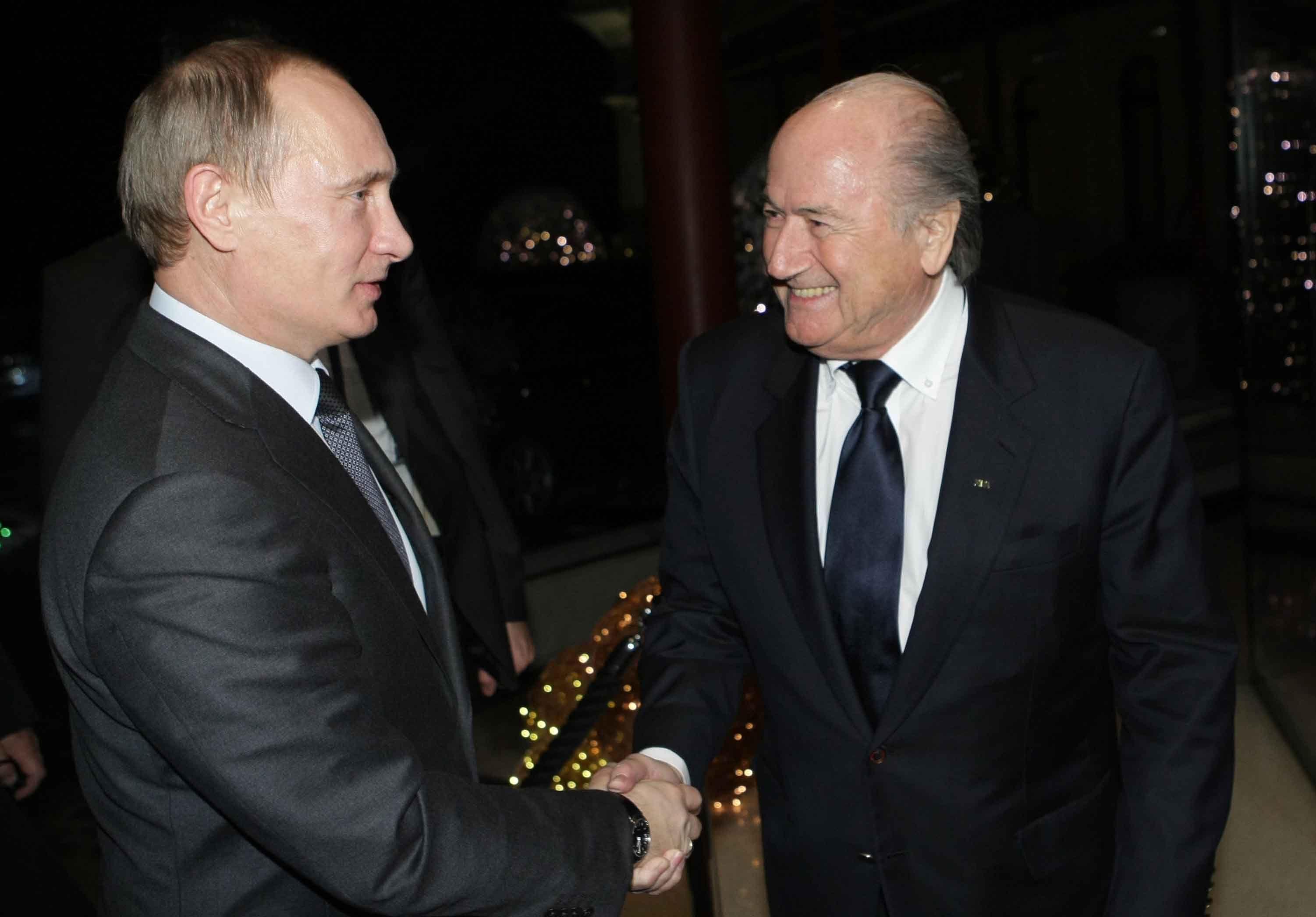 Otros tiempos. Putin