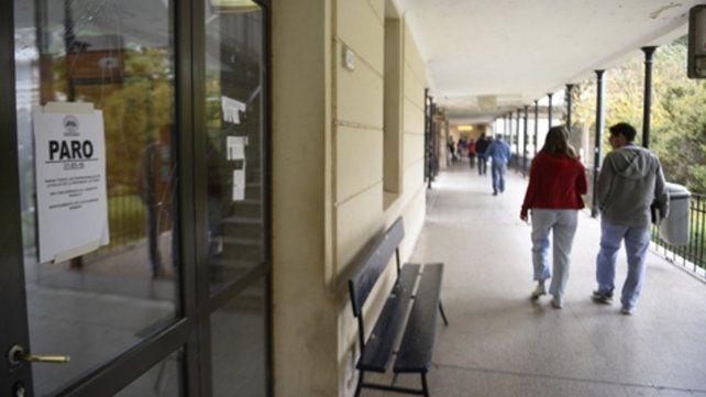Hospital Centenario. La situación genera preocupación.