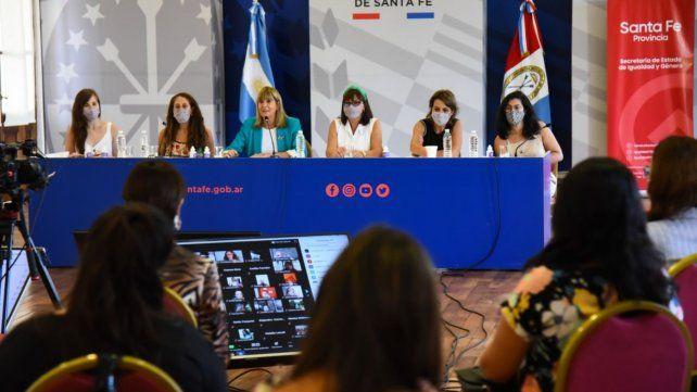 La actividad fue encabezada por la vicegobernadora Alejandra Rodenas.