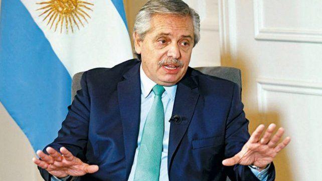El presidente Alberto Fernández llamó a celebrar el amor sin miedo