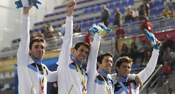 Nadadores rosarinos y casildenses trajeron más medallas y clasificación a Londres