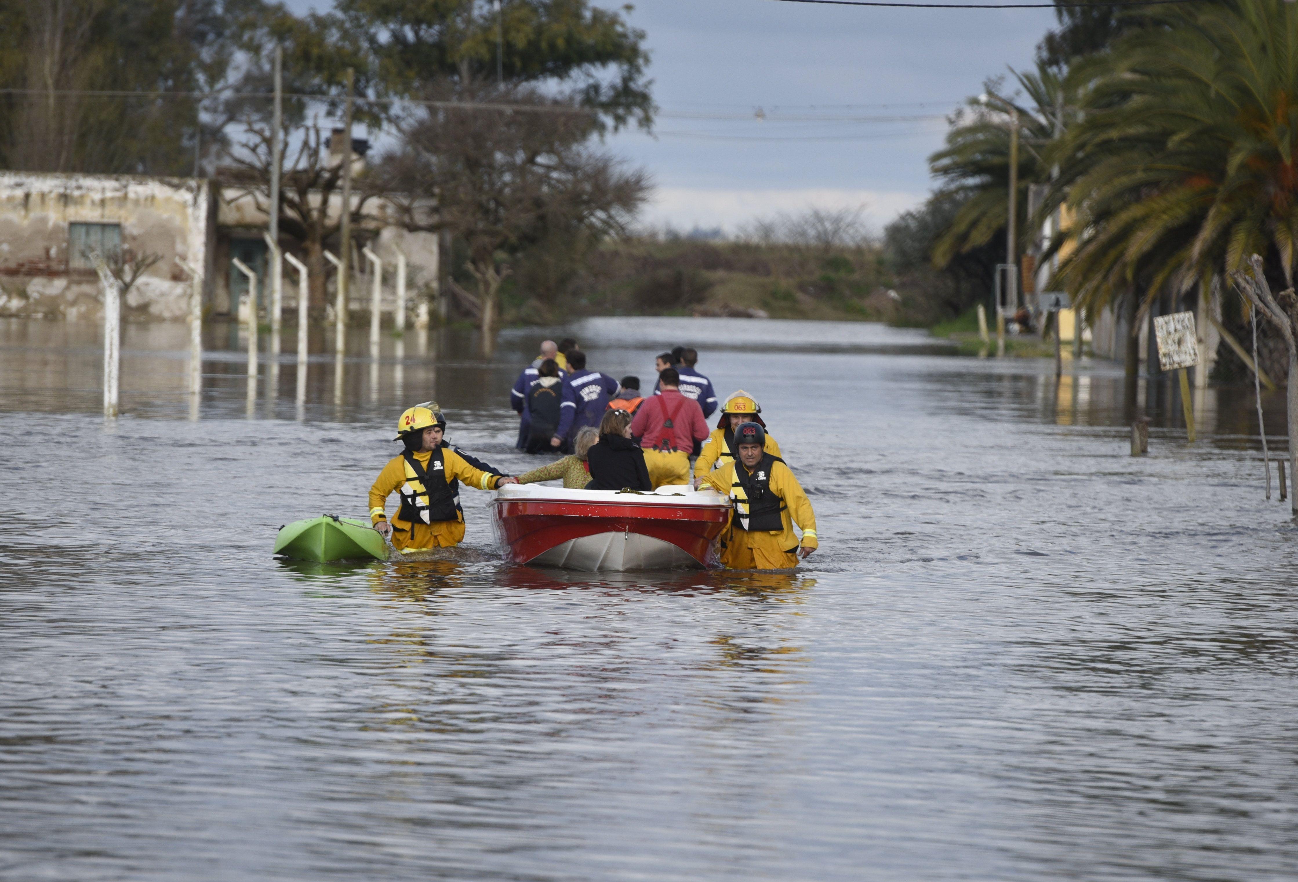 Sanford fue una de las localidades más afectadas por las últimas inundaciones. (Foto de archivo La Capital)