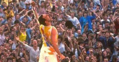 Freddie Mercury fue elegido como el Dios del rock de todos los tiempos