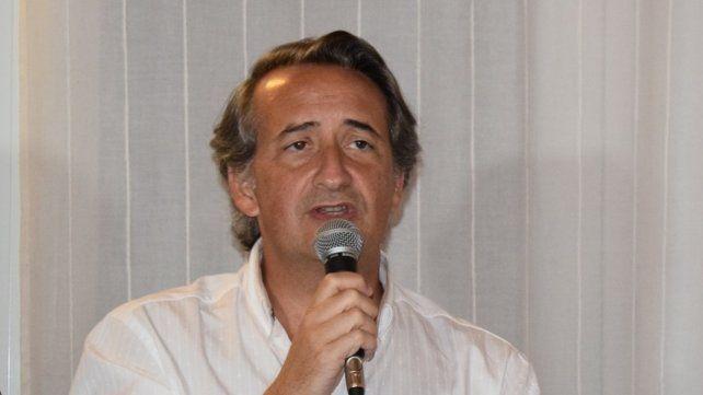El constitucionalista y diputado provincial Nicolás Mayoraz.