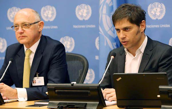 Voces argentinas. Timerman y Kicillof expondrán la posición del país.