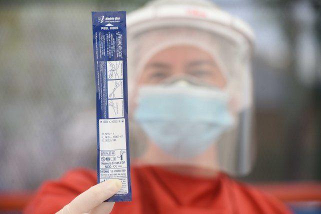 Actualmente el 25 por ciento de los hisopados que se analizan en la provincia son positivos