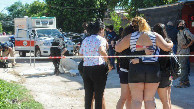 El doble homicidio sucedió poco después de las 8 en Lavalle y Amenábar.