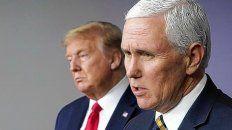 El presidente Donald Trump le había pedido a Mike Pence, su vice, que no confirmara su derrota en las elecciones. Sin embargo, al negarse, se sucedieron los hechos en el Capitolio.