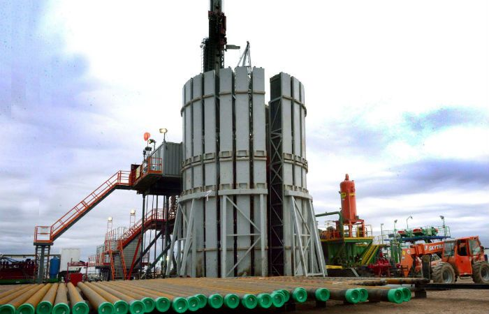 Hidrocarburos. Trabajos para incorporar tecnología en el área de Loma Campana