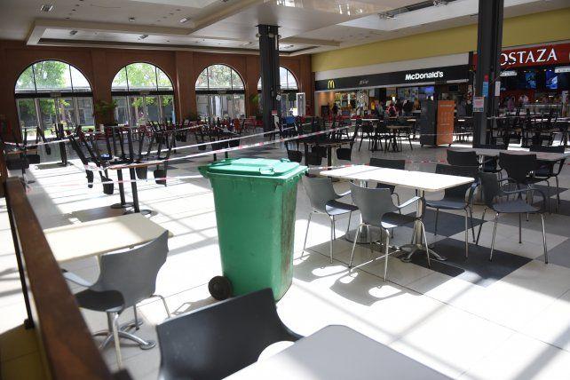 Los locales de los shoppings solo podrán trabajar por envío o modalidad take away