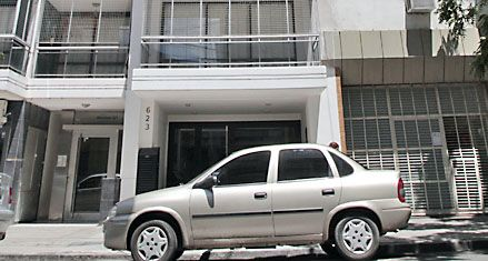 Triple crimen: un kilo de cocaína en el edificio donde cayó Teletubi
