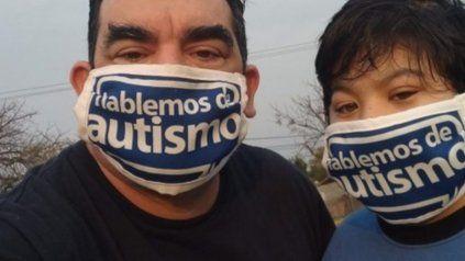 """Leopoldo Pistán. """"El 1% de los niños del Cordón Industrial sufren de autismo"""", advirtió el referente de la ONG."""