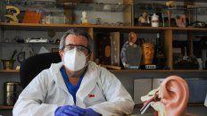 El otorrinolaringólogo Héctor Ruiz.