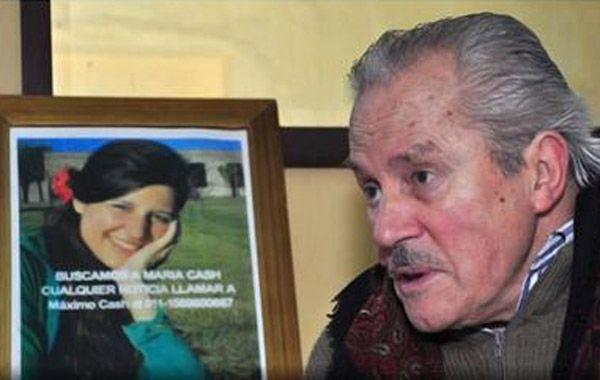 Federico Cash y la incansable búsqueda de su hija María.