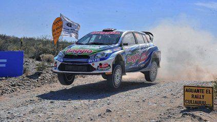 Nadia Cutro viene cumpliendo un buen papel con el Yaris del CEO Rally Team.