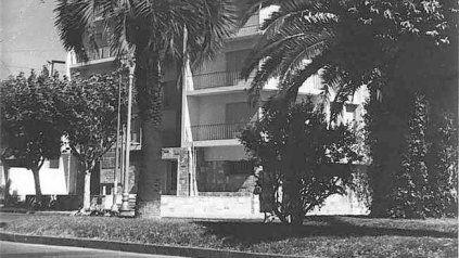 Candia - Edificios Orion y Ayax, proyecto Mario y Juan Solari Viglieno, R. C. Candia, A. Facchini, Oudkerk, 1948