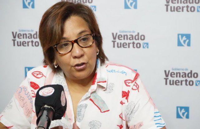 La funcionaria Miriam Carabajal se mostró muy conforme con la respuesta de los vecinos de la ciudad a los talleres municipales