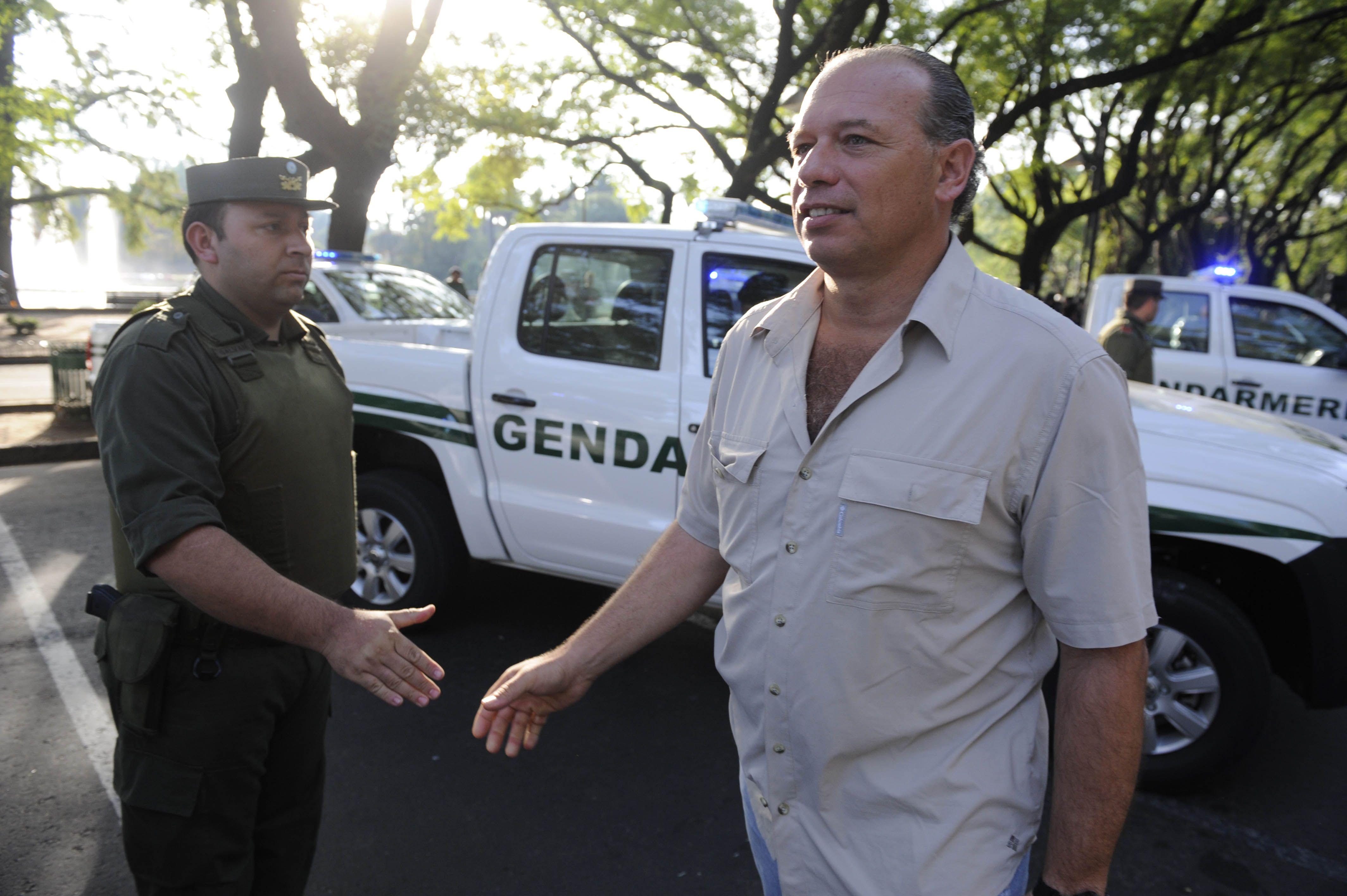 Berni se reunirá con Bonfatti a fin de acordar las condiciones para el regreso de Gendarmería.