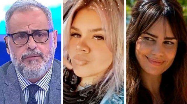 Jorge Rial quedó en el medio de la pelea de su hija Morena con su mujer