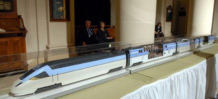 El tren bala no entró en el presupuesto 2009 y el proyecto se congelaría